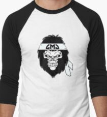 Gorilla Skull Men's Baseball ¾ T-Shirt