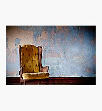 Chair Photographic Print