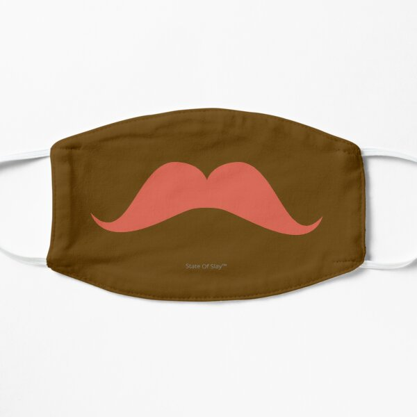 State Of Slay - Brown Mustache Brown Mask