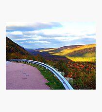 Golden Glow of Autumn Photographic Print