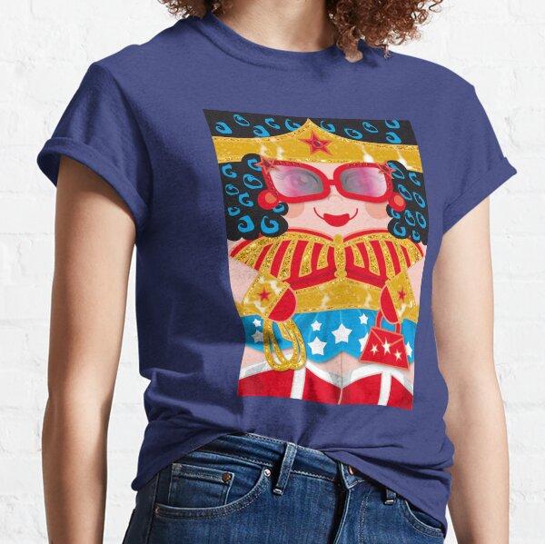 The Fabulous Wonder Mama Hero Hugger! Classic T-Shirt