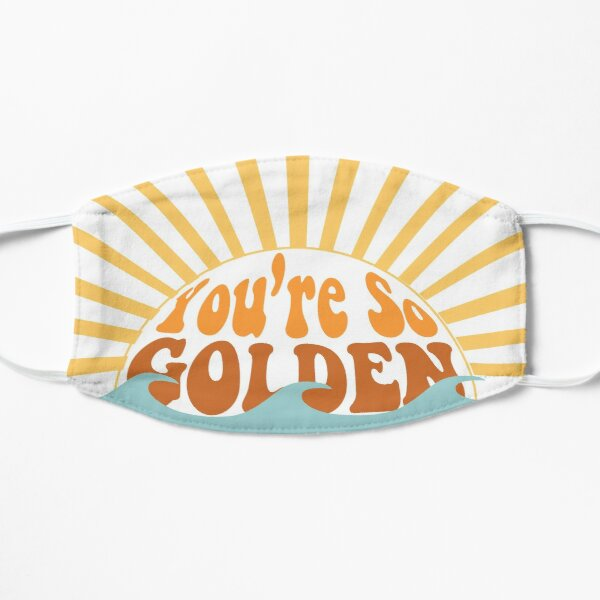 You're So Golden Flat Mask