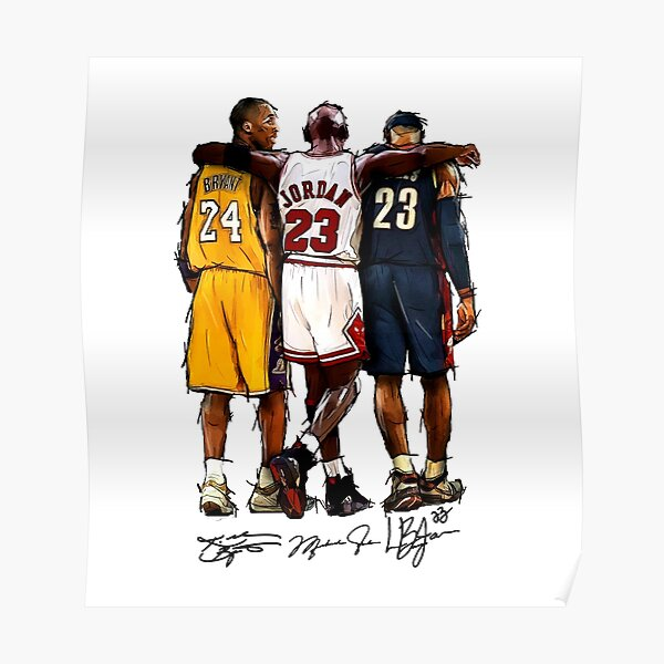 Kobe Michael LeBron - Together Poster