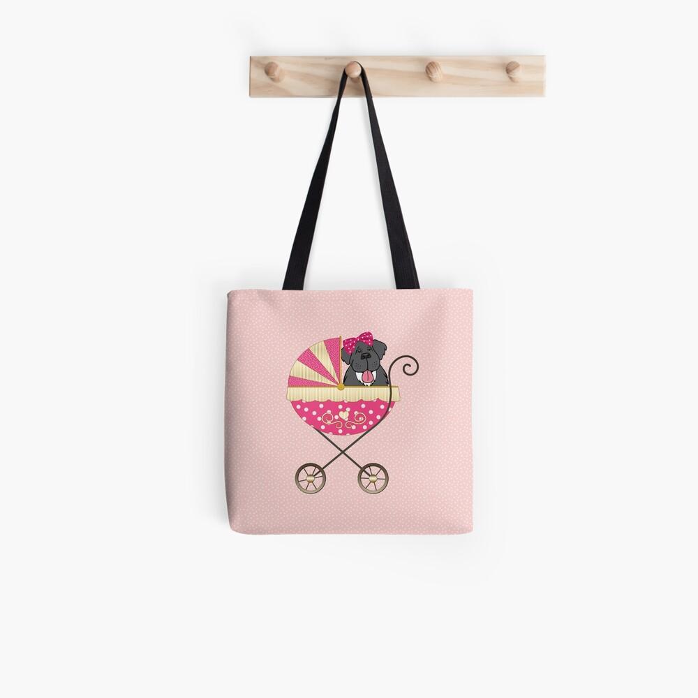 Newfie Baby Girl Tote Bag