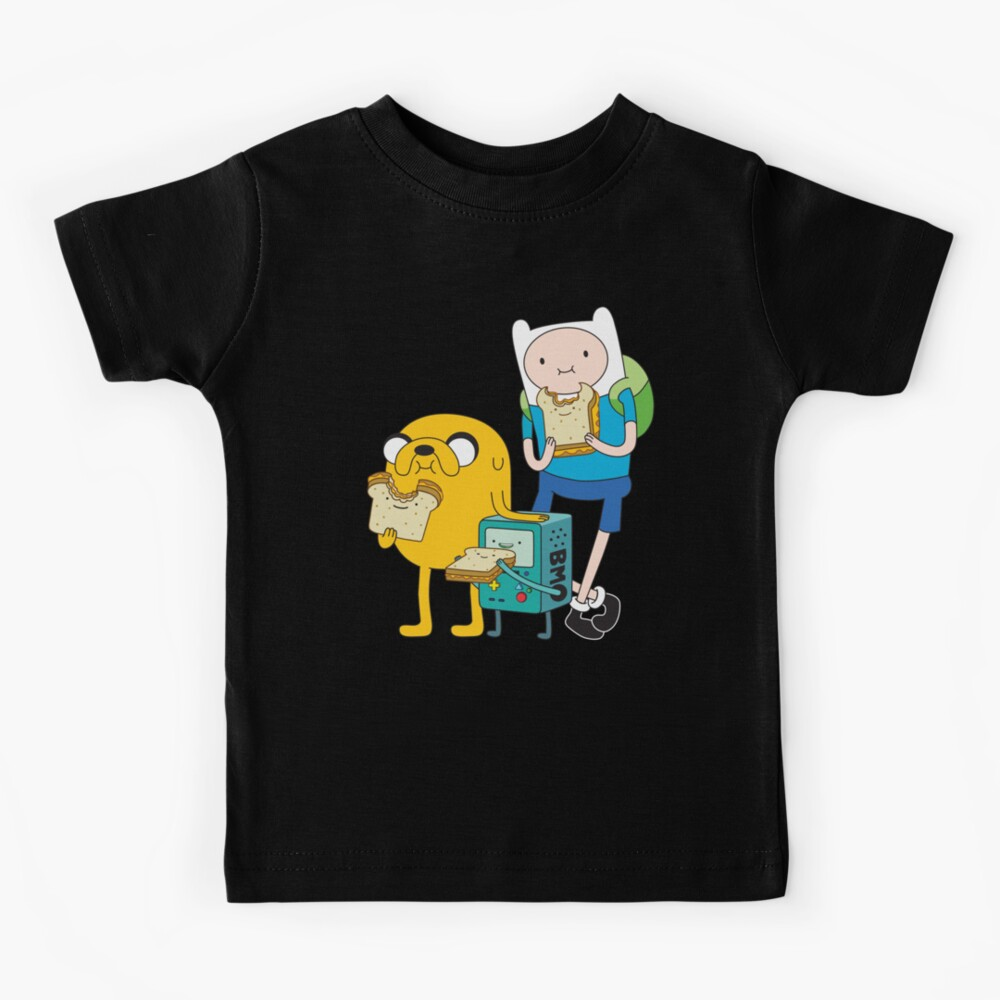 Finn Jake BMO Kids T-Shirt
