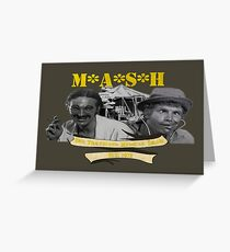 M*A*S*H: The Traveling Medical Show Greeting Card