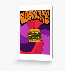 CONSUME Greeting Card
