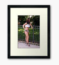 Judy Judy Judy Framed Print