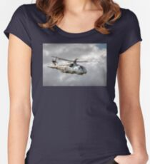 Royal Navy Merlin Women's Fitted Scoop T-Shirt