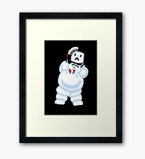 Scared Mr. Stay Puft. Framed Print