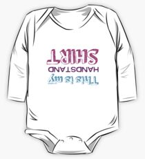 Gymnastics - This Is My Handstand Shirt One Piece - Long Sleeve