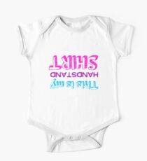 Gymnastics - This Is My Handstand Shirt Kids Clothes