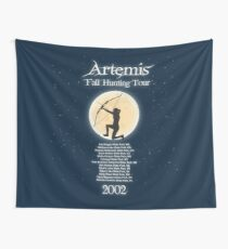 Artemis Fall Hunting Tour Wall Tapestry