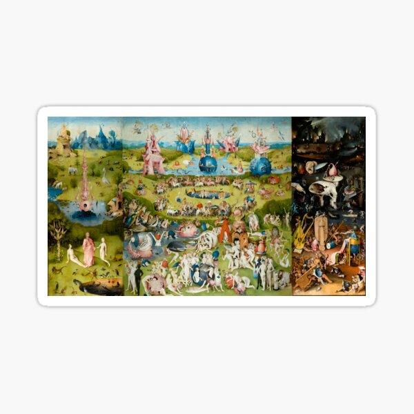 Hieronymus Bosch Der Garten der irdischen Freuden Sticker