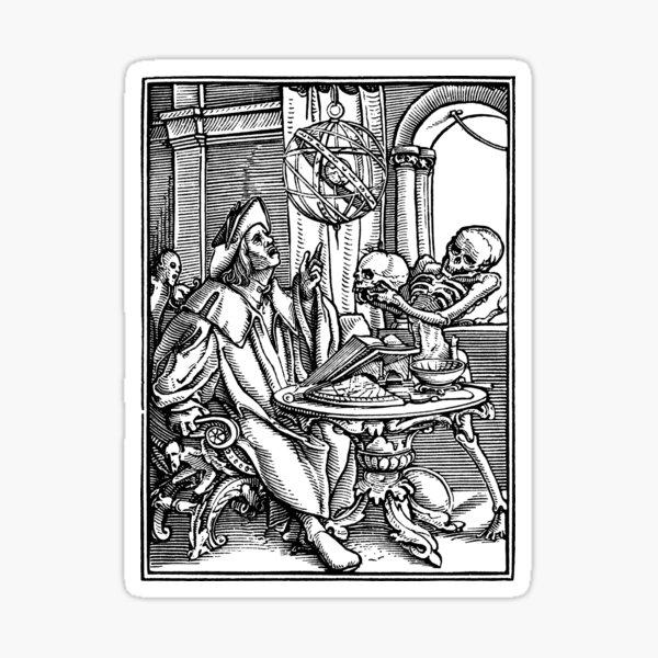 Dance of Death - 27 The Astrologer Sticker
