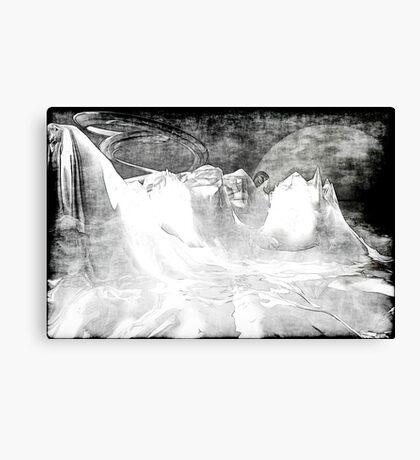 White World Canvas Print
