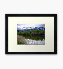 Lake Maskinonge Framed Print