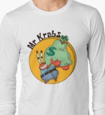 Did you know crabs love money! Long Sleeve T-Shirt