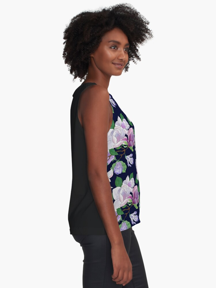 Alternate view of Magnolia Floral Frenzy Sleeveless Top