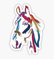 Cool t-shirt Horse Colour me beautiful Sticker