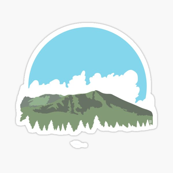 Mt. Tamalpais Sticker