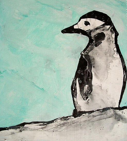 chin strap penguin  by starheadboy