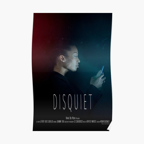 Disquiet Short Film Official Poster Poster