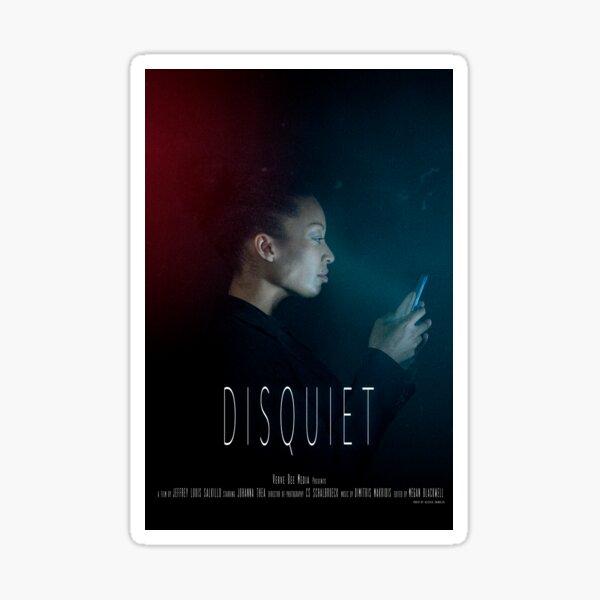 Disquiet Short Film Official Poster Sticker