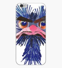 very angry ostrich iPhone Case