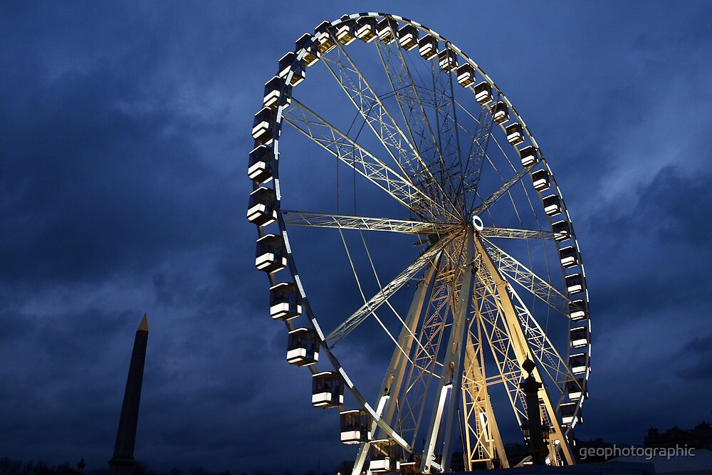 La Grand Roue I by geophotographic