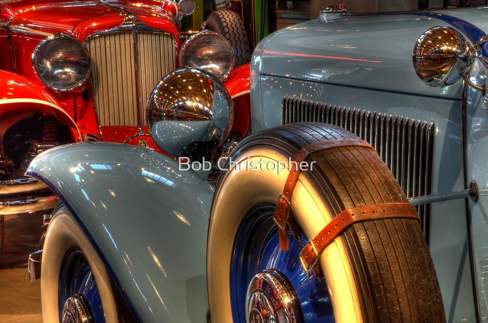 1931 Cord 1932 Auburn Head To Head by Bob Christopher