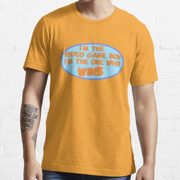 I M The Video Game Boy I M The One Who Wins Game Grumps T Shirt By Themanfromskaro Redbubble