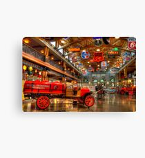 Automobile Paradise Canvas Print