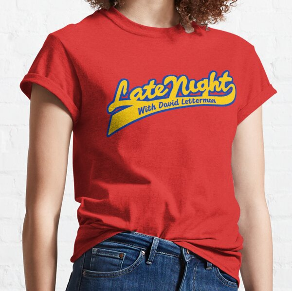 DAVID LETTERMAN CLASSIC LOGO Classic T-Shirt