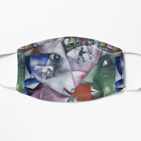 Marc Chagall - Moi et le village Masque sans plis