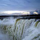 Iguazu Sunset by dher5