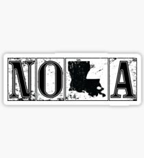 New Orleans NOLA Street Tiles #neworleans #travel #louisiana  Sticker