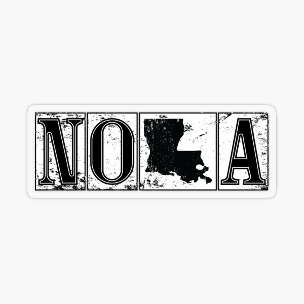 Iconic New Orleans Nola Louisiana French Quarter Street Tiles Travel Lifestyle   Transparent Sticker
