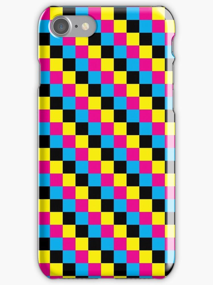CMYK [iPhone / iPod case] by Damienne Bingham