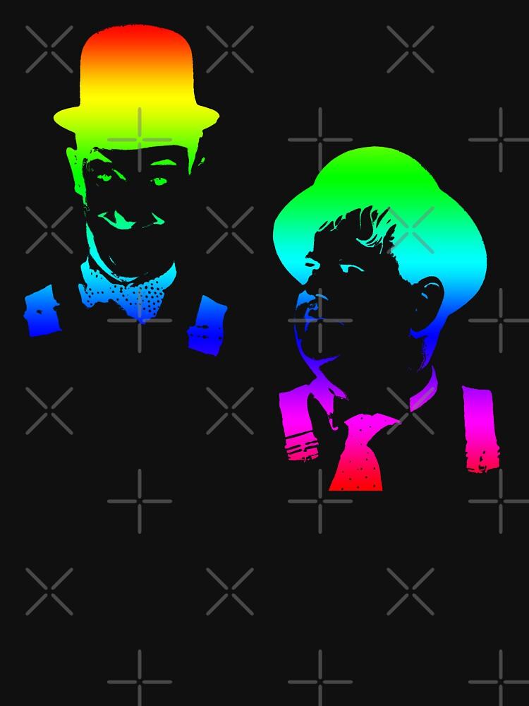 Stan Laurel, Oliver Hardy by hottehue