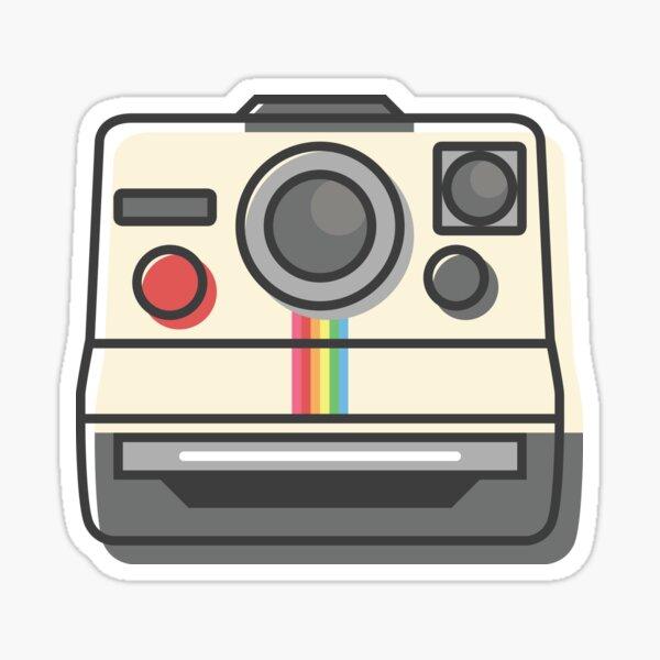 Vintage Instant Camera Sticker