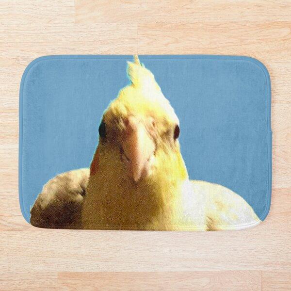 What a cock Bath Mat