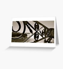 Railing Greeting Card