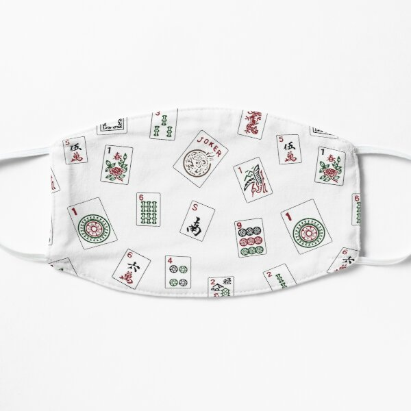 White Mahjong Mask