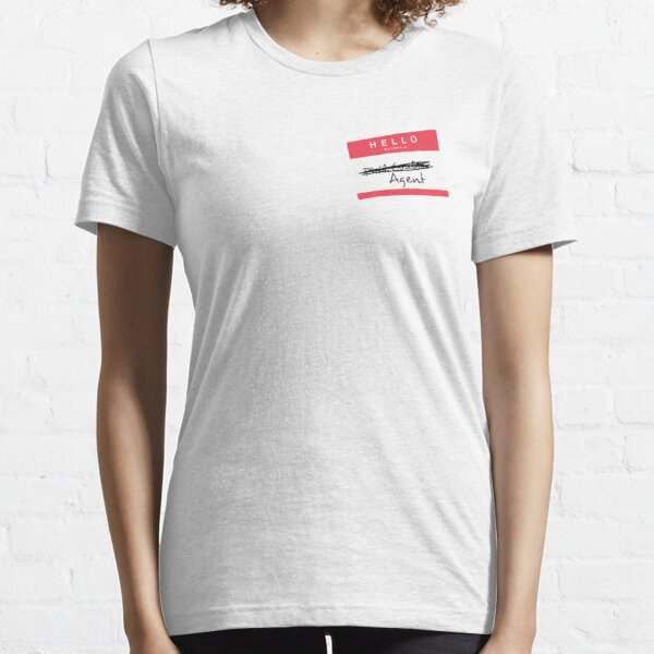 Hi, my name is... Agent? (Red) Essential T-Shirt