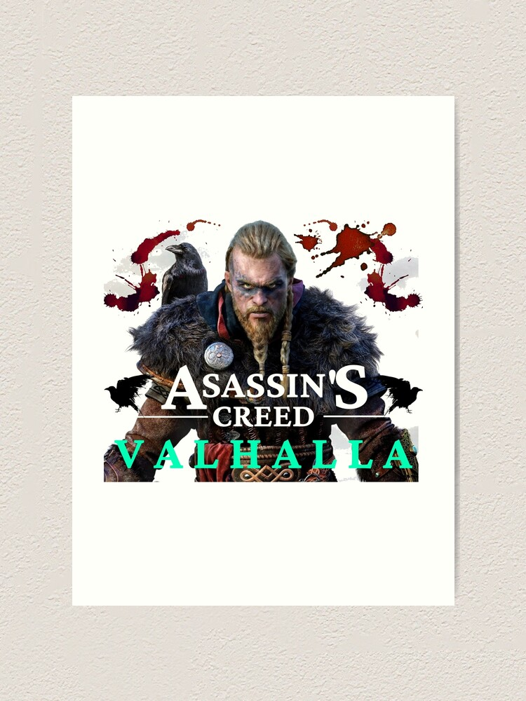 Assassin S Creed Valhalla Eivor Art Print By Thorosthor Redbubble