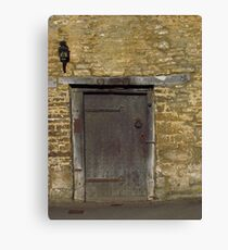 Medieval Door, Castle Combe Canvas Print