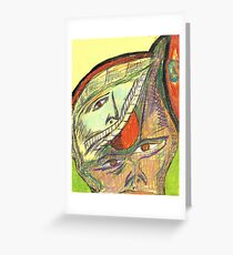 haunted by memories Greeting Card