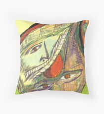 haunted by memories Throw Pillow