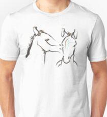 Cute T-shirt - horse - together 6 T-Shirt